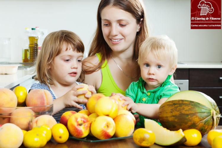 Aprendiendo a amar las frutas y las verduras