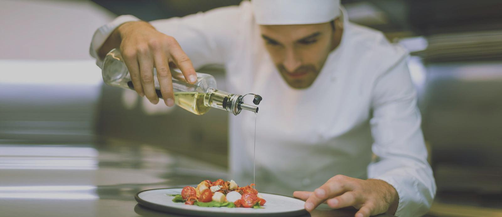 trabajadores catering