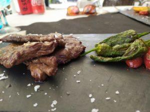 eventos comida carne a la piedra