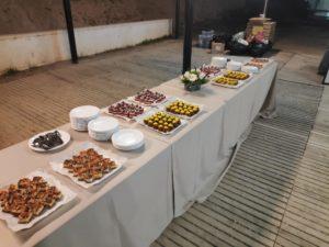 eventos mesa con comida