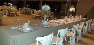 mesa de bodas bonita