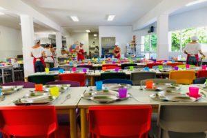 Máximas medidas de prevención en los comedores escolares